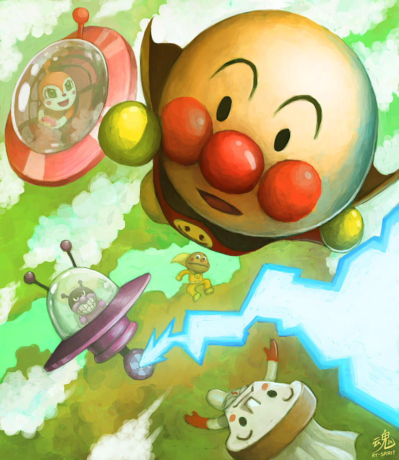 DIE ANPANMAN! by Ry-Spirit