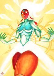 Goddess of Light by Ry-Spirit
