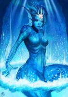 Goddess of Water by Ry-Spirit