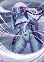 Goddess of Wind by Ry-Spirit