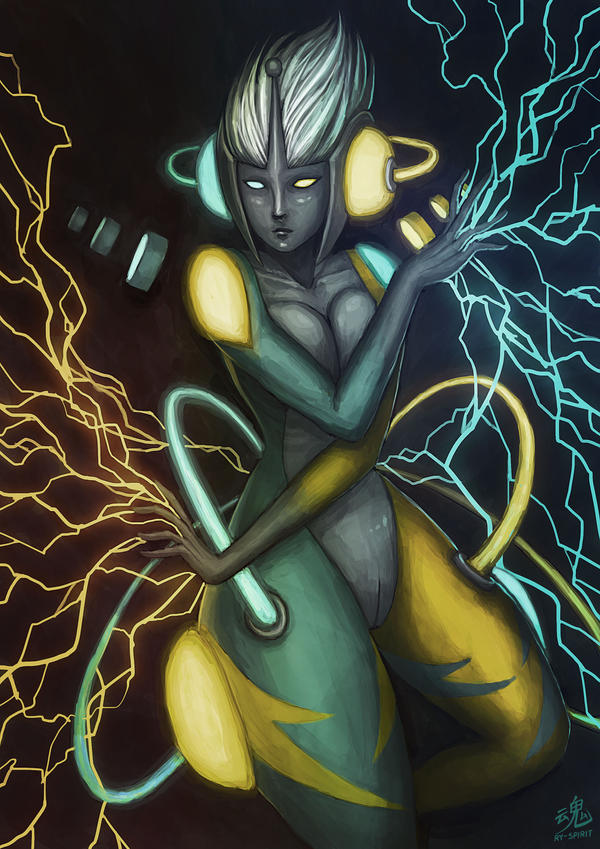 Goddess of Thunder by Ry-Spirit