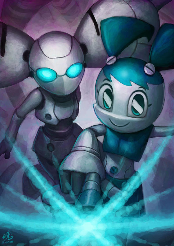 Robotic Friends by Ry-Spirit