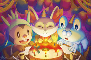 X and Y Party by Ry-Spirit