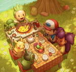 Lunch time by Ry-Spirit
