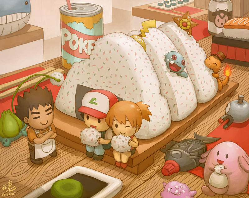 Výsledek obrázku pro pokemon food deviant art