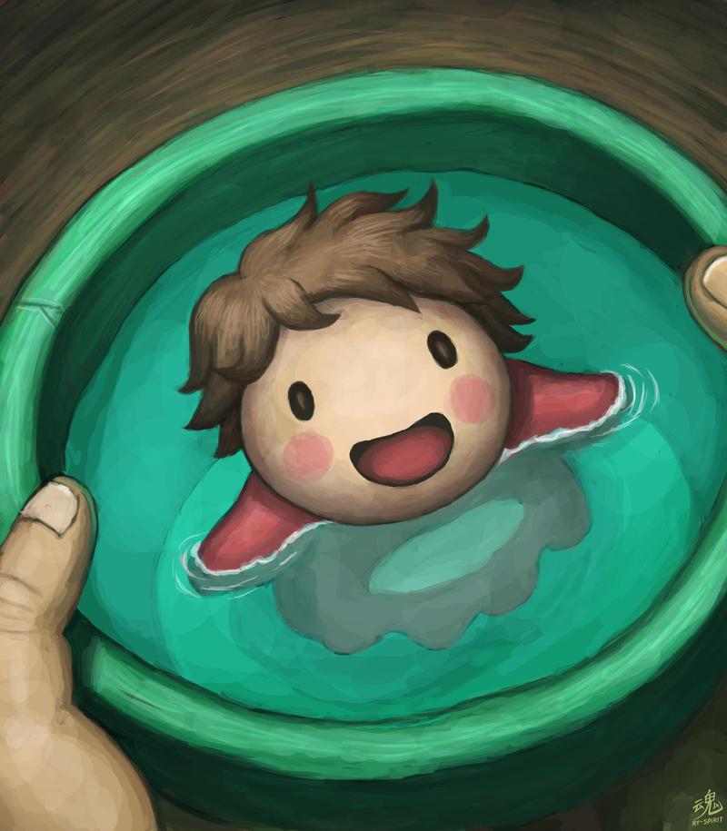 I'm Ponyo! by Ry-Spirit