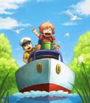 Im on a Boat by Ry-Spirit