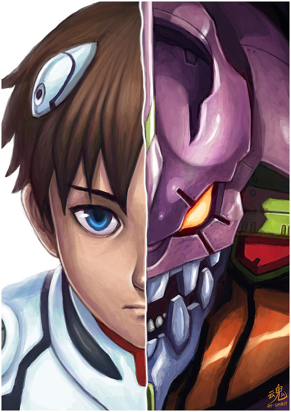 Shinji Eva-01 by Ry-Spirit