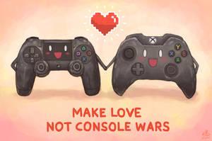 Make Love, Not Console Wars by Ry-Spirit