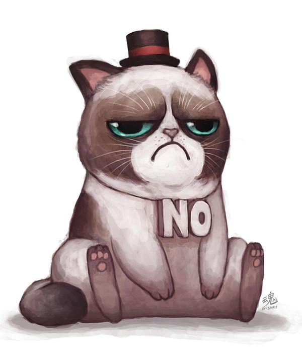 Grumpy Cat Thanks
