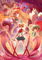 Pretty Guardian Sailor Moon by Ry-Spirit