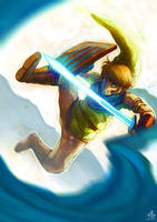 Warrior of Hyrule by Ry-Spirit