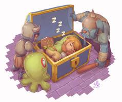 Sleeping Hero by Ry-Spirit