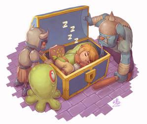 Sleeping Hero
