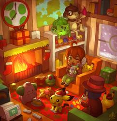 Secret Santa for YoshiCafe by Ry-Spirit