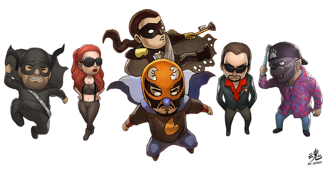 SMHP Chibi Characters