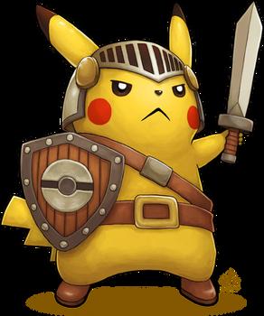Pikachu Knight