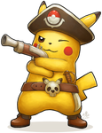 Captain Pikachu