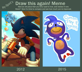 Ry-Spirit's Draw This Again Meme