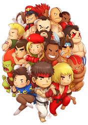 Super Street Fighter II Turbo by Ry-Spirit