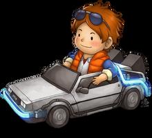 Delorean Kart by Ry-Spirit