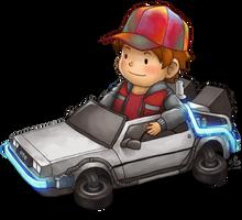 Delorean Kart Part 2 by Ry-Spirit