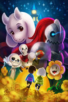 Undertale by Ry-Spirit
