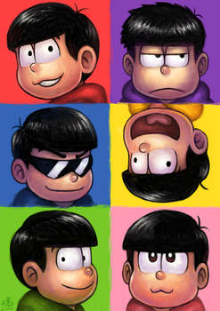 Six Same Faces