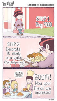 Life of Ry - Life Hack #4 Making a Feast