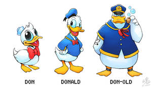 Don - Donald - Don-old (Old Design)