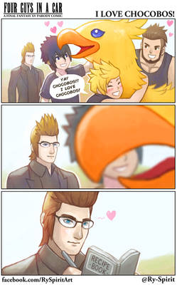FFXV - I love Chocobos