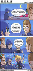 FFXV - Ignis's Advice by Ry-Spirit