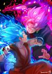 Blue vs Rose