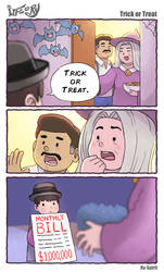 Life of Ry - Trick or Treat (with bonus story!)