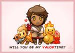 Will you be my VALORtine?