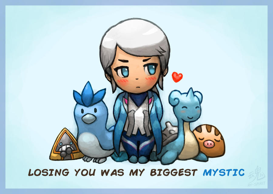 Losing you was my biggest MYSTIC by Ry-Spirit