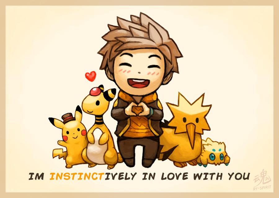 Im INSTINCTIVELY in love with you by Ry-Spirit