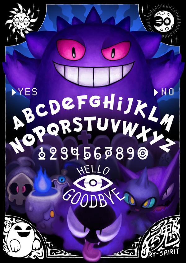 Ouija Pokemon by Ry-Spirit