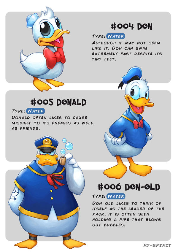 #004 Don - #005 Donald - #006 Don-old by Ry-Spirit