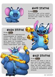 #019 Statch - #020 Stitch - #021 Stutch