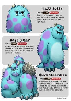 #022 Subby - #023 Sully - #024 Sullivorc