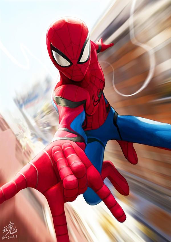 Spider-Man by Ry-Spirit
