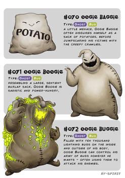 #070 Baggie - #071 Boogie - #072 Buggie