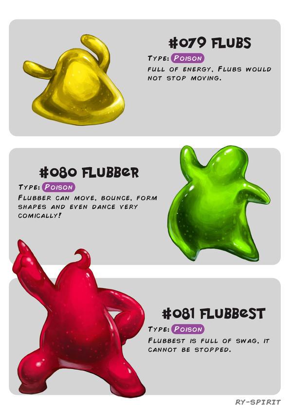 #079 Flubs - #080 Flubber - #081 Flubbest by Ry-Spirit