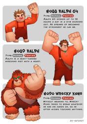 #088 Ralph 64 - #089 Ralph - #090 Wrecky Kong by Ry-Spirit