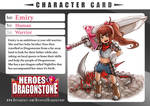 Emiry Character Card