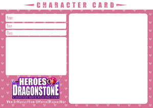 Character Card Template (Hearts) by Ry-Spirit