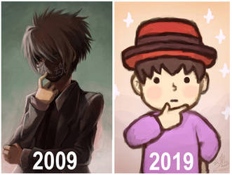 2009 vs 2019 by Ry-Spirit