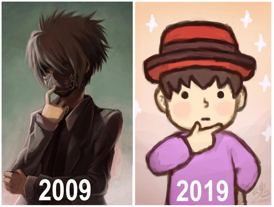 2009 vs 2019 by Ry-Spirit