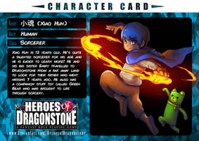 Xiao Hun Character Card by Ry-Spirit